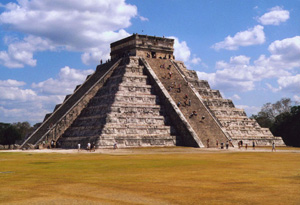 Pyramid of Kukulkan - Chichen Itza