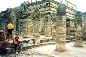 Temple of the thousand columns - Chichen Itza